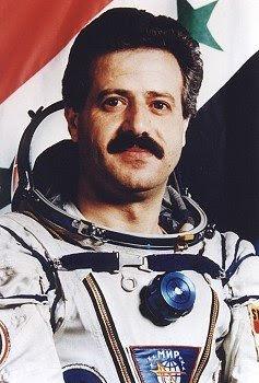 Muhammed Faris, Syrian cosmonaut. Mir EP-1 (July 22, 1987)