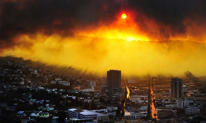 Climate change will harm millions of people and will threaten ecological systems. (AFP Photo)