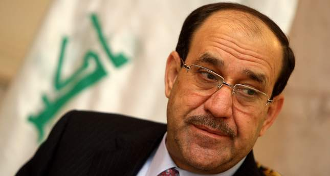 A file picture taken on February 5, 2011, shows at the time Iraqi prime minister Nuri al-Maliki listening to a question during an interview in Baghdad. (AFP Photo)