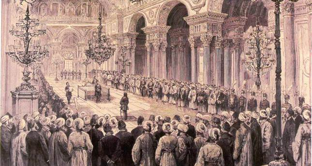The first parliament in Ottoman history featured 130 members, including 80 Muslim and 50 non-Muslim deputies.