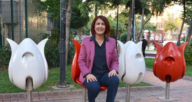 Mayor installs single seat for women in parks
