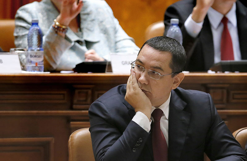 A file picture dated 26 September 2015 shows Romanian Prime Minister Victor Ponta (EPA photo)