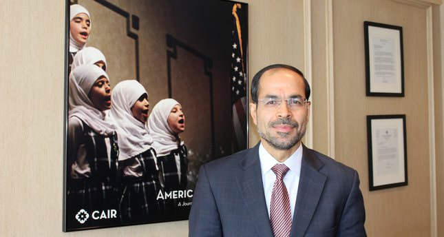 Nihad Awad, executive director of the Council on American Muslim Relations