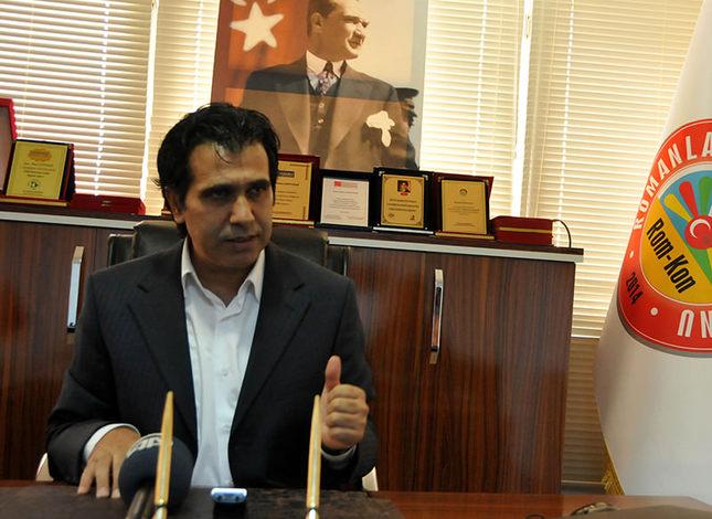 Ahmet Çokyaşar, chairman of Turkey Roma Confederation (AA Photo)