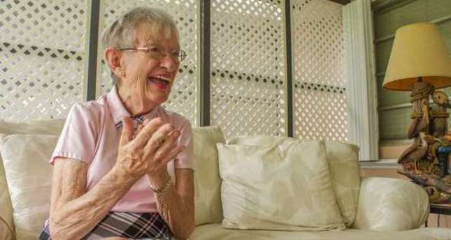 """University of Miami did a study on """"super-agers,"""" or seniors who manage to stay healthy and avoid the perils of dementia. (AFP Photo)"""