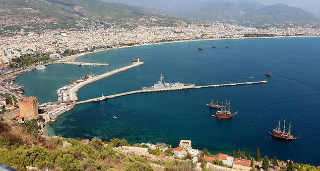 Alanya district of Turkey's southern Antalya province (DHA Photo)