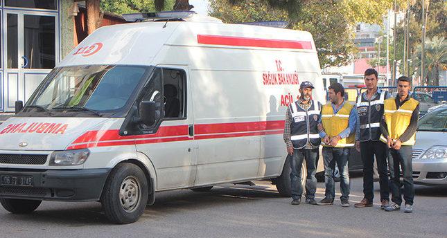 Turkish police find 27,500 smuggled cigarette packs in fake ambulance