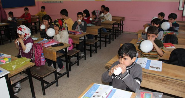 Turkish union helps Syrian students