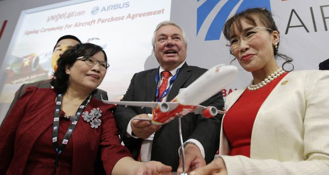 Airbus, Vietjet announce $3B deal for 30 planes