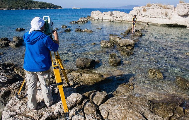 Geoarchaeologists discover lost island of Peloponnesian War in western Turkey