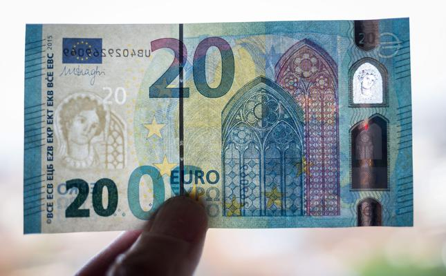 New 20 euro banknote hailed a milestone in thwarting forgers
