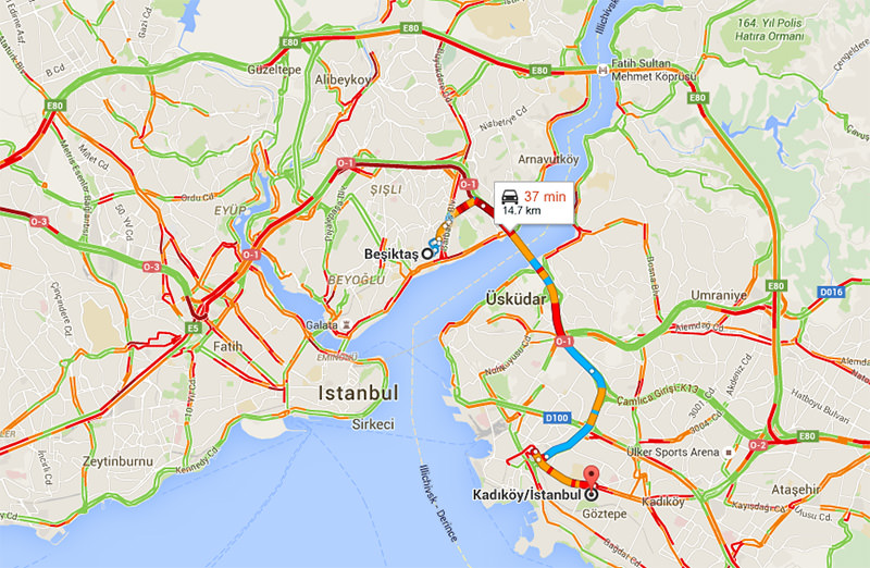 Google Maps now shows traffic information, predicts travel ... on home maps, online maps, different types of world maps, bing maps, on apple maps, on world maps,