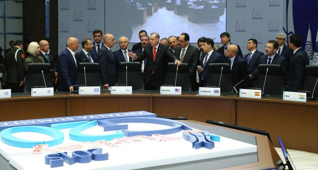 President Erdoğan went to Turkey's popular resort city Antalya, where the G20 Summit will be hosted, to check preparations.