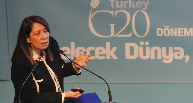 Prime Minister Ahmet Davutoğlu's Senior Economic Advisor, Professor Dr. Emine Nur Günay