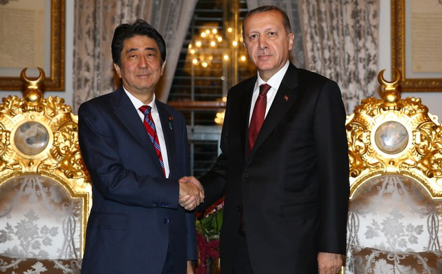 President Recep Tayyip Erdoğan and Japanese Prime Minister Shinzo Abe came together on Friday.