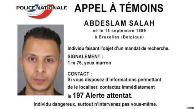 This handout image released by the French Police information service on Nov 15, 2015 shows a picture of Abdeslam Salah.