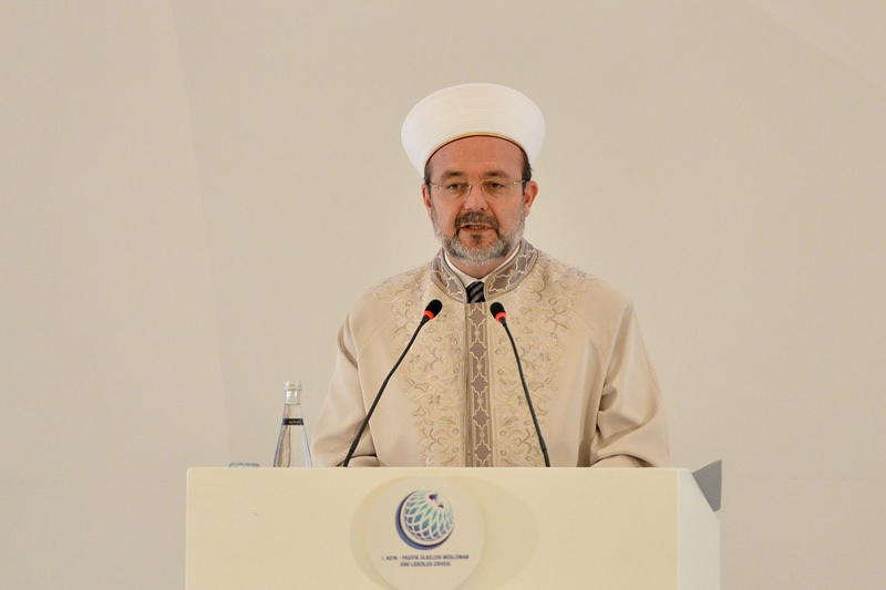 Mehmet Gu00f6rmez, head of the Presidency of Religious Affairs