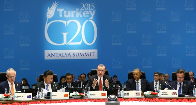 Erdoğan welcomes world leaders, emphasizes fight against terror