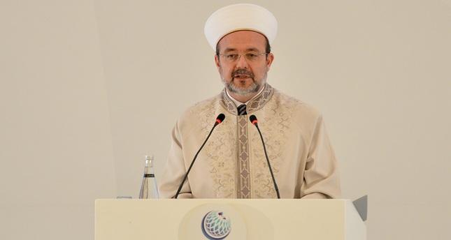 Mehmet Görmez, head of the Presidency of Religious Affairs