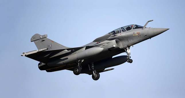 A French Rafale fighter jet (Reuters Photo)