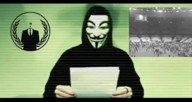 Anonymous declares war on DAESH after Paris attacks