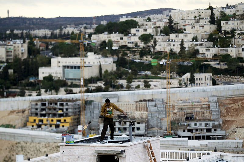Ramat Shlomo, a religious Jewish settlement in an area of the occupied West Bank that Israel annexed to Jerusalem November 17, 2015 (Reuters Photo)