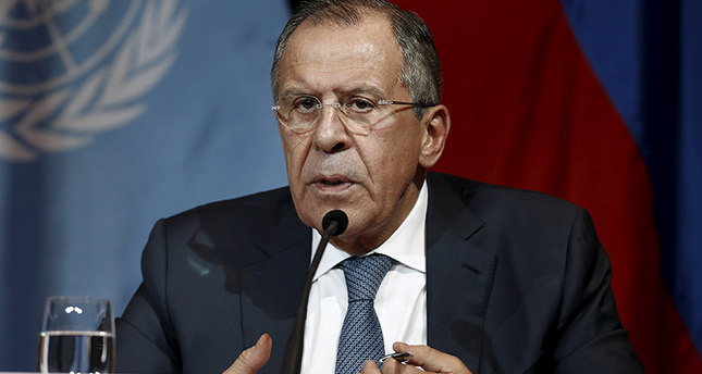 Russian Foreign Minister Sergei Lavrov addresses the media in Vienna, Austria, November 14, 2015 (Reuters)