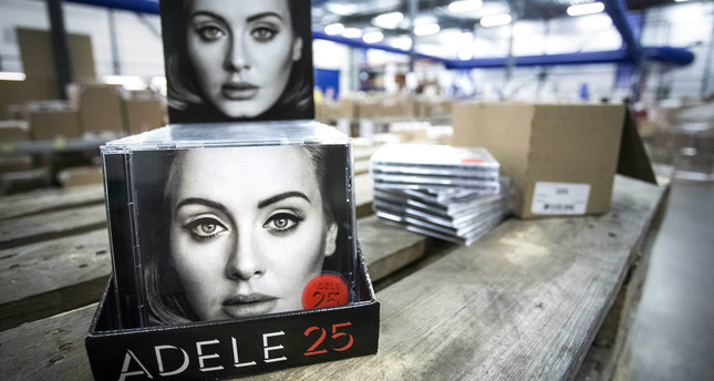 he new album, of British singer Adele, 25 is ready for distribution at Bertus Wholesale