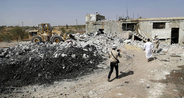 Southern countryside of Idlib, Syria (Reuters photo)