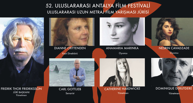Masters of world cinema to judge in Antalya Film Fest