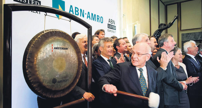 ABN Amro makes record return to Dutch bourse