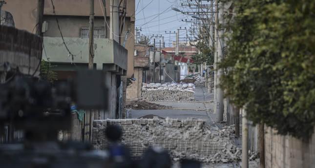 PKK terrorists opened fire on Turkish security forces in Mardin Nov. 20, 2015. AA Photo