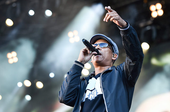 German singer Xavier Naidoo of the band Soehne Mannheims performing in Mannheim, Germany (EPA Photo)