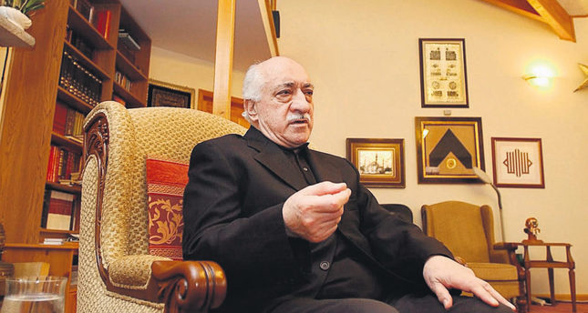 Fethullah Gülen at his residence in Pennsylvania. He is accused of running a criminal organization in Turkey and attempting to overthrow the government.