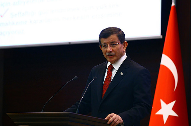 PM Davutoğlu unveils new Cabinet members of Turkey's 64th government