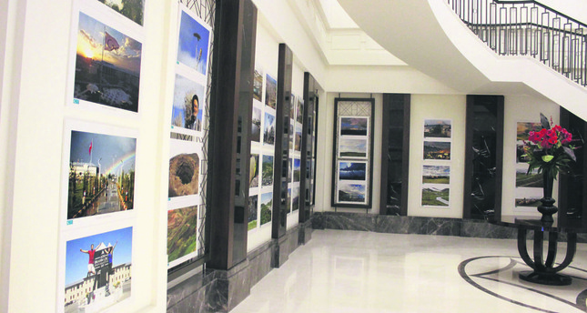 The photos featured at the exhibition were chosen from among nearly 1,000 photographs taken by nine experienced photographers, who are also members of the Ankaralı Gezginler Group, during a one-week photo shoot in May.