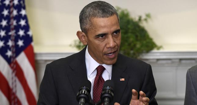 President Barack Obama speaks in the Roosevelt Room of the White House in Washington, Wednesday, Nov. 25, 2015. (AP Photo)