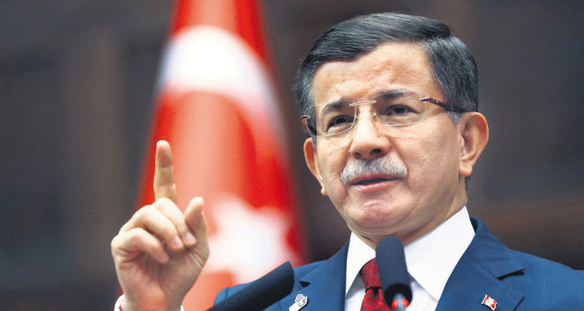 PM Davutoğlu asserts 'whoever digs ditches will be buried in them'