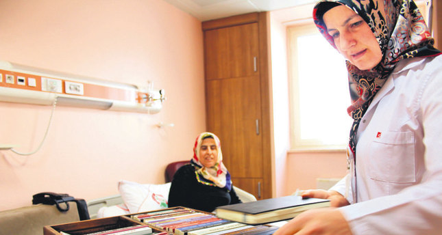 Books for patients latest in Turkey's reading fever
