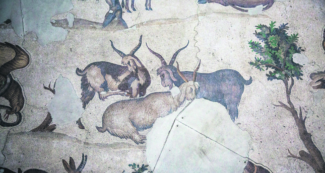 Ancient Mosaics at the Great Palace Museum to be restored