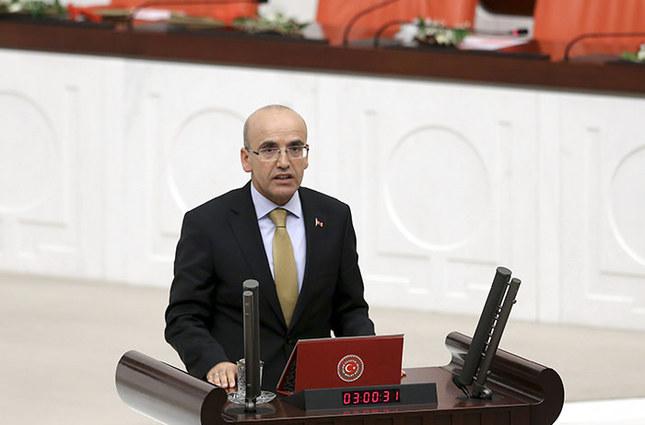 Deputy Prime Minister Mehmet Şimşek (AA Photo)
