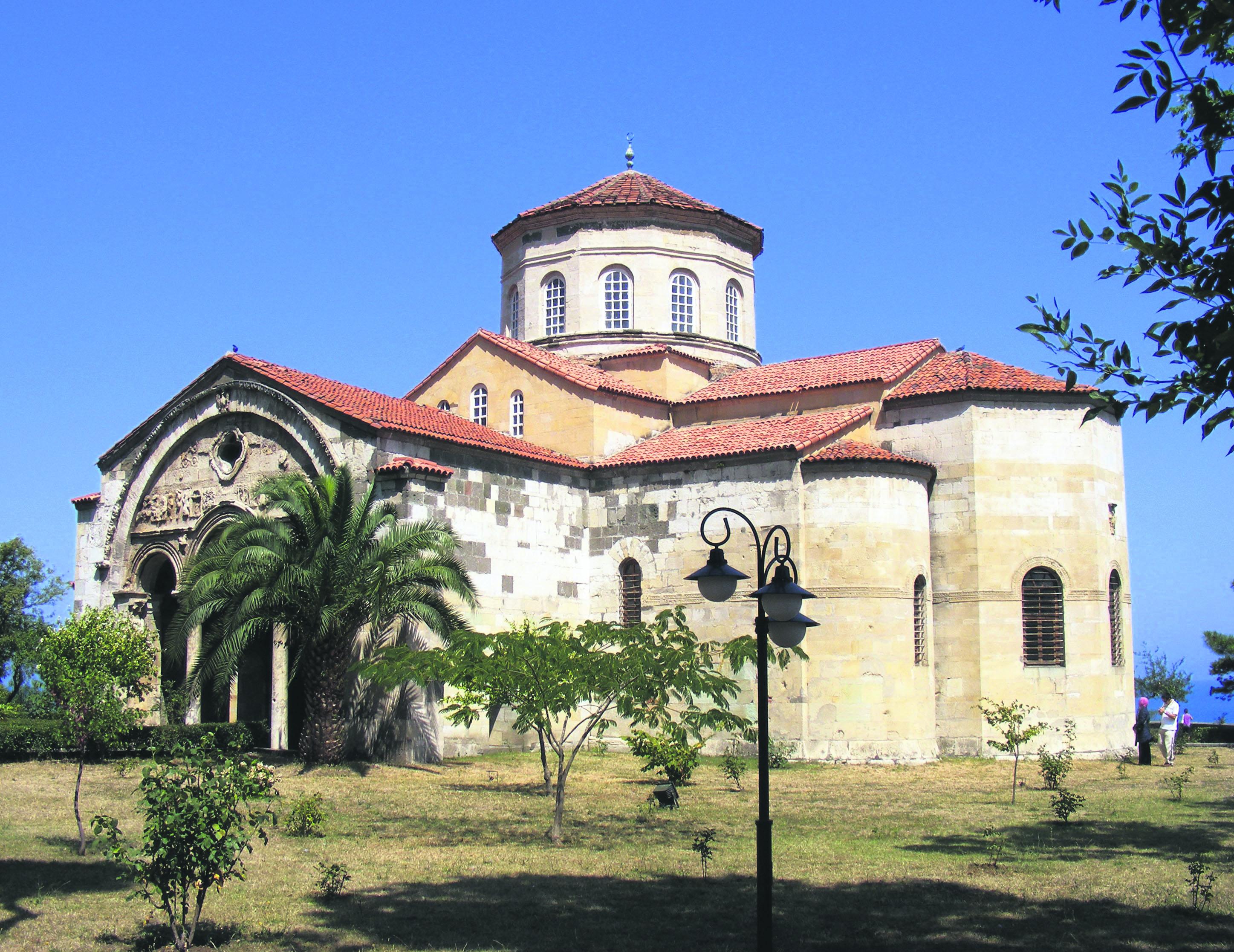 Trabzon's Aya Sofya Mosque