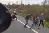 Hungary truck driver tries to run over Syrian refugees in Calais
