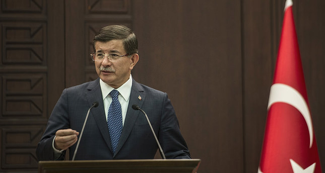 Accidents like Russia jet downing can happen unless there is coordination in Syria, PM Davutoğlu says