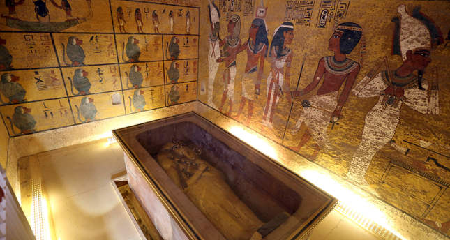 The Curse Of King Tuts Tomb Torrent: Scans Of King Tut's Tomb Point To Hidden Chamber, Possibly