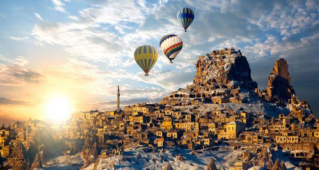 Cappadocia in central Turkey