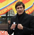 Dmitry Gudkov, MP from the party A Just Russia. (Wikimedia Commons Photo)