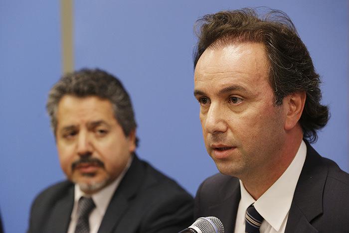 Head of Syrian National Coalition Khaled Khoja (Right) (AA Photo)