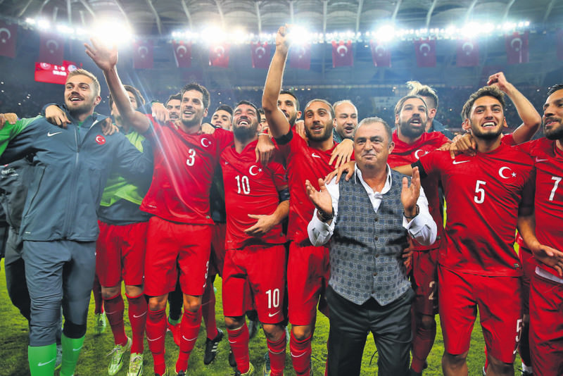 The win over Iceland on Oct. 13 sealed Turkey's automatic qualification for UEFA EURO 2016 as the best third-placed side, bringing joy to a nation reeling from almost a decade of hurt in international football.