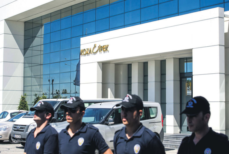 The Koza Holding companies were placed in trusteeship by a court order in September for illegal financial activities linked to FETu00d6.